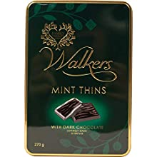 Walkers Chocolate Oscuro Menta Delgada 270g