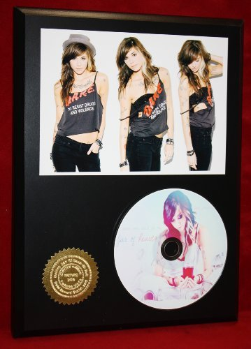 Christina Perri LTD Edition Picture Disc CD Rare Collectible Music Display Gold Record Outlet