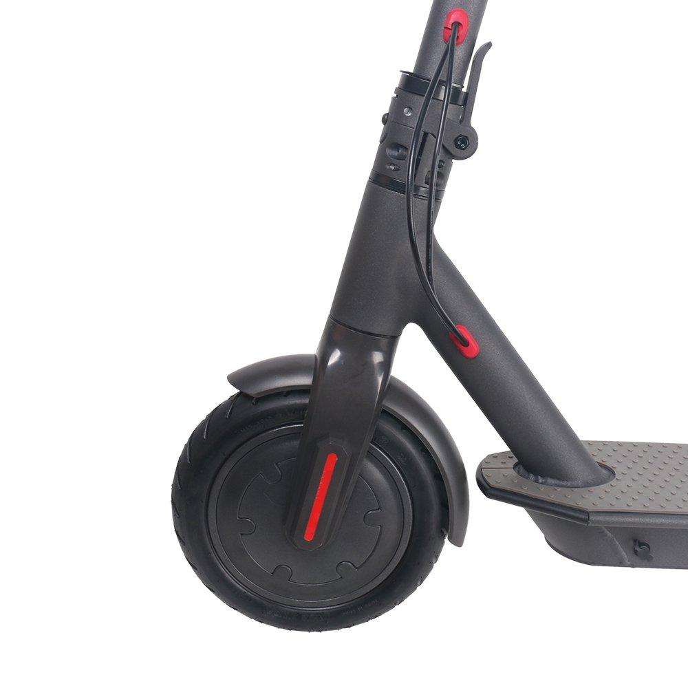 BEBK Patinete eléctrico, ruedas grandes plegables de 21,59 ...