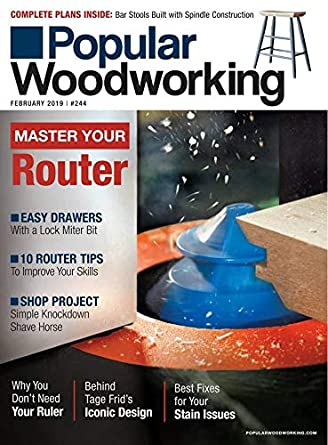 Amazon Com Popular Woodworking Magazine F W Media Kindle Store