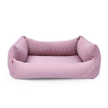 Xi Man Shop Verano Guay Acogedor para Perros Cama Lavable Cómodo (Color : Pink, Size : L): Amazon.es: Hogar