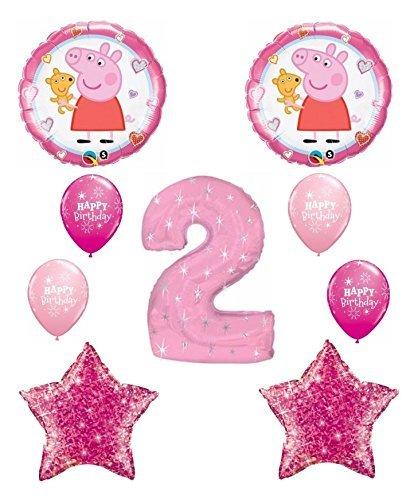 Peppa Pig 2nd Happy Birthday Balloon -