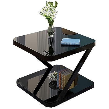 Amazon.com: CAIZHEN - Mesa auxiliar de pie con marco de ...