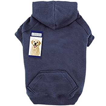 "Casual Canine Basic Hoodie for Dogs, 24"" XL, Navy"