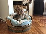 Nebbiolo Pet Bed / Unique Furniture / Dog Lovers / Wine Lovers / Wine Bar / Whiskey Lover / Wine Barrel Furniture / Solid Oak / Home Design