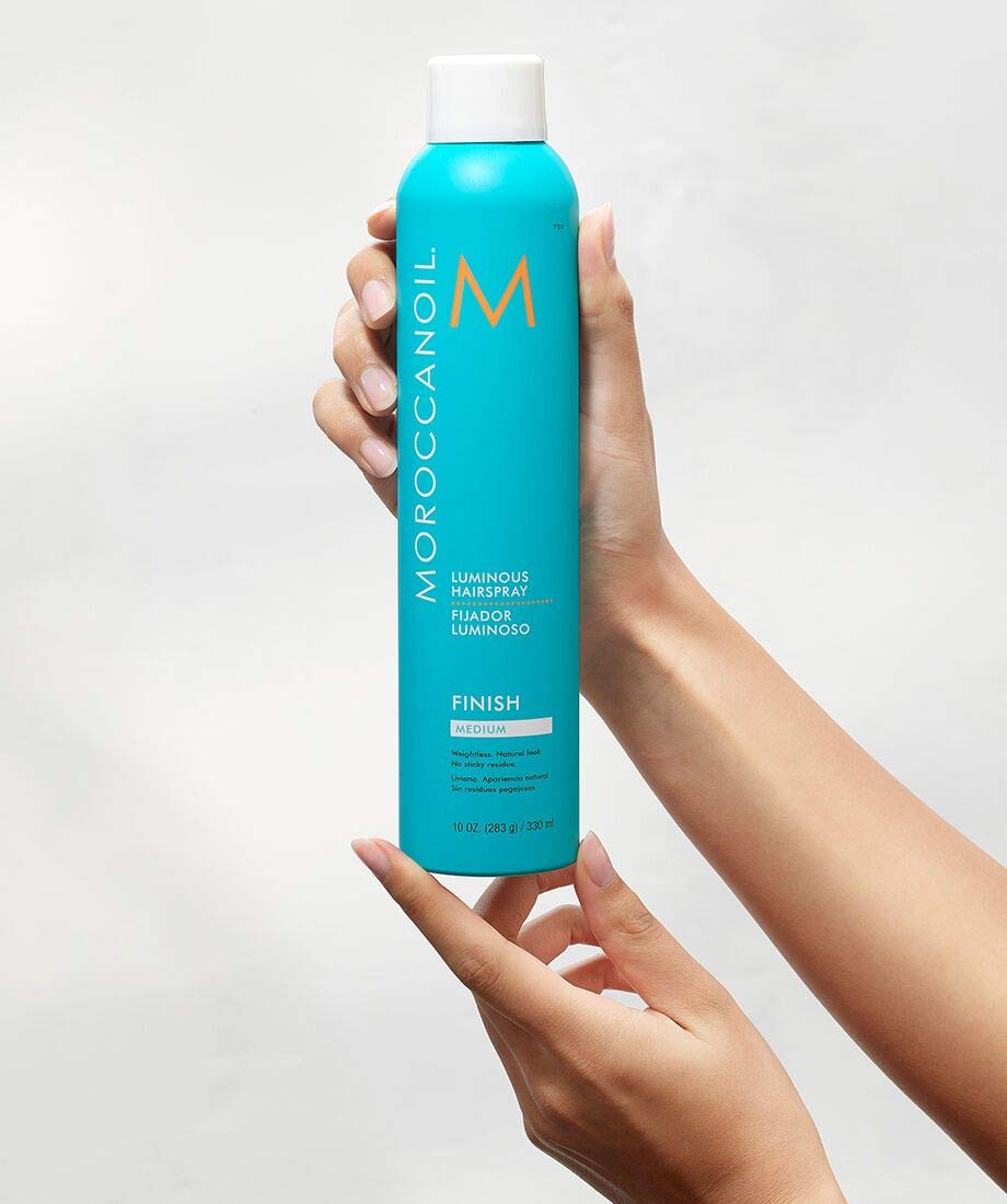 Moroccanoil by Moroccanoil Luminous Hairspray Medium, 10 Ounce: Premium Beauty