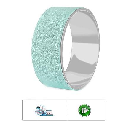SHPEHP Sports Yoga Wheel Reduce el Dolor de Espalda Mejora ...