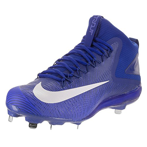 Nike White Shoes Blue Rush Blue Top Baseball Mens Up Zoom Racer Lace Trout 3 Low rqrz46w