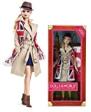 2012 Barbie Dolls of the World, United Kingdom / England / Britain Passport Pink Label