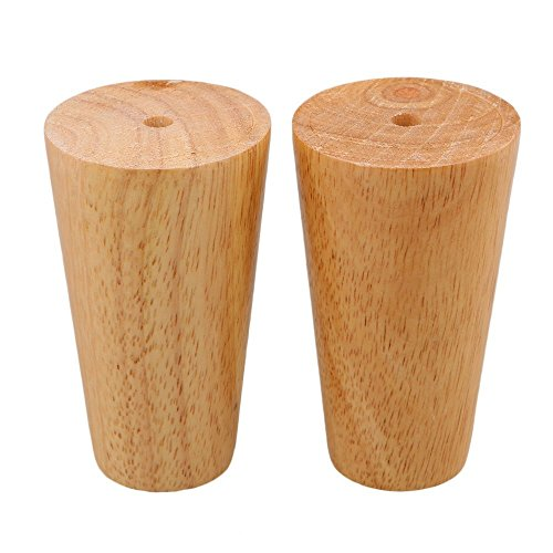 4 Inch Sofa Legs Solid Wood Color Tapered Furniture Feet for Tea Table TV Cabinet Legs Sofa