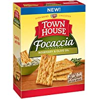 Town House Focaccia Rosemary and Olive Oil Crackers