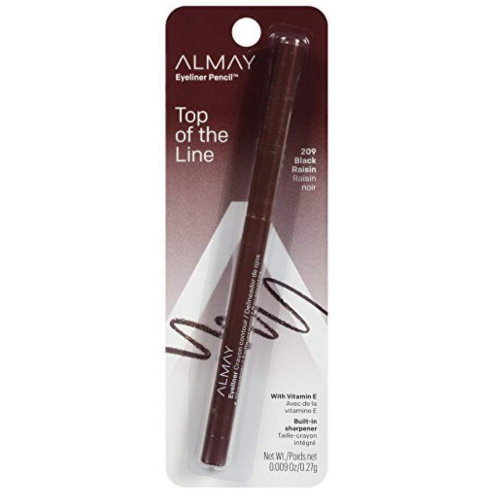 Almay Intense i-Color Liner, Black Raisin [209], 0.009 oz (Pack of 5)