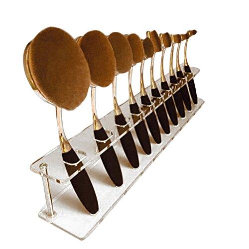 kwok-brush10-pcs-brush-storange-placeorganizer-clear-acrylic-10-lattices-cosmetic-display-shelf