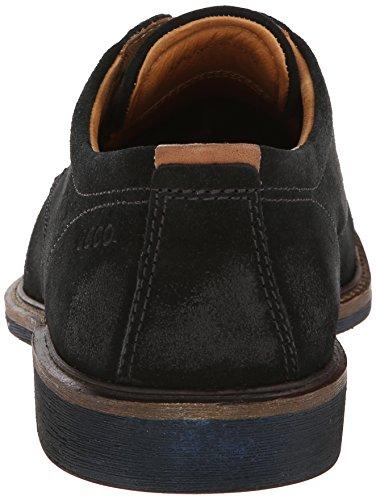 Ecco Findlay Birch/Walnut Super Suede/Aztec Herren Chukka Boots Schwarz (BLACK/WALNUT 57751)