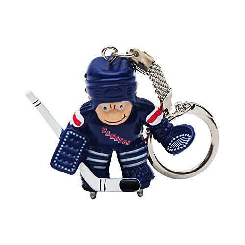 New York Rangers Goalie (NHL New York Rangers Goalie Keychain)