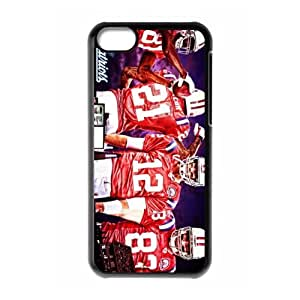 Sport NFL New England Patriots Print tom brady With Hard Shell Cover for iPhone 5C Case -JUST do it ,style 5
