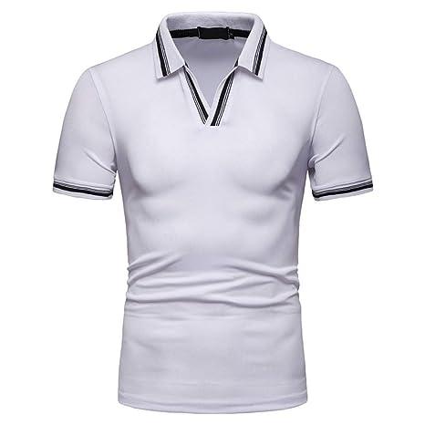 NISHISHOUZI Camisa De Polo De Los Hombres,Los Hombres De Verano De ...