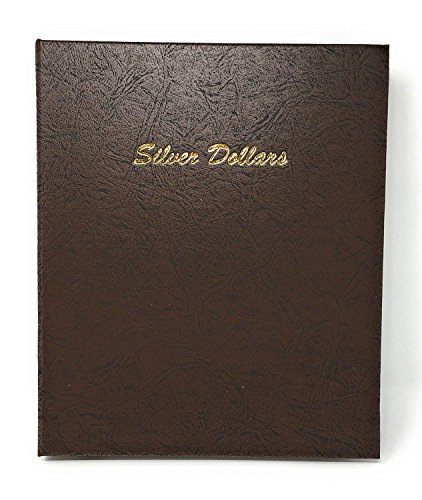 Silver Us Type Coin - Dansco US Large Silver Dollar Size Blank Coin Album with 48 Ports #7177