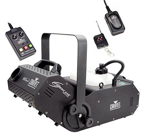 NEW! CHAUVET HURRICANE H1800 FLEX Fog/Smoke Pro Machine w/ FC-W Wireless Remote by Chauvet DJ