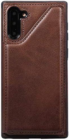 Samsung Galaxy S10 Plus プラス PUレザー ケース, 手帳型 ケース 本革 ポーチケース 財布 カバー収納 高級 ビジネス 手帳型ケース Samsung Galaxy サムスン ギャラクシー S10 Plus プラス レザーケース