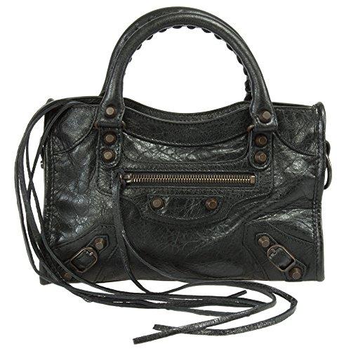 Balenciaga Classic Mini City Leather Bag