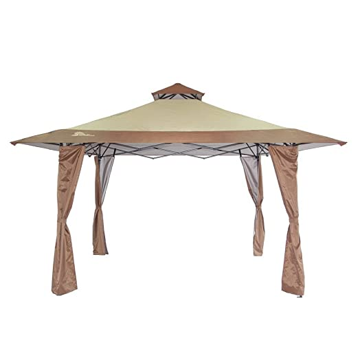 Palm Springs 4 X 4M Pop Up Canopy Tent With Wind Vent Top