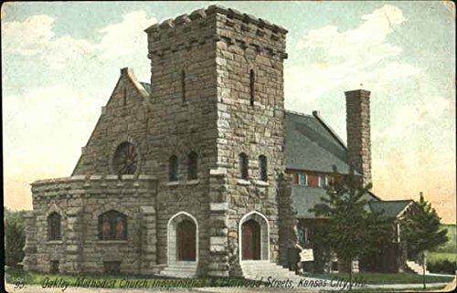 Oakley Methodist Church, Independece & Elmwood Streets Kansas City, Missouri Original Vintage - Kansas Oakley City