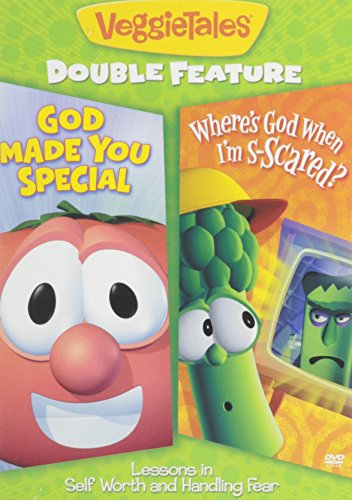 VEGGIETALES - DOUBLE FEATURE - GOD MADE YOU SPECIAL AND WHERE'S GOD WHEN I'M SCARED?