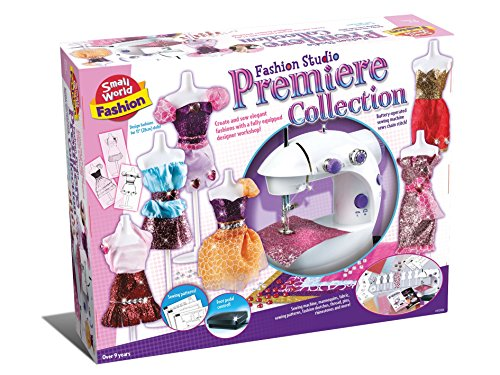 Sew Chainstitch - Small World Toys Fashion - Fashion Studio Premier Collection Sewing Set