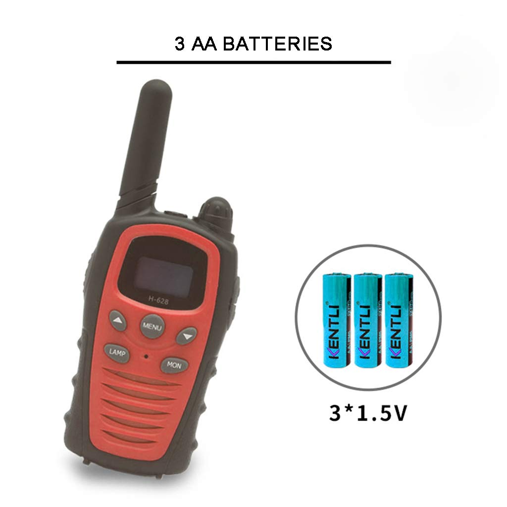 Banbu Toys for 3-12 Year Old Boys, Teen Girl Gifts, Walkie Talkies for Kids Teen Boy Gifts Birthday,Red by Banbu (Image #4)
