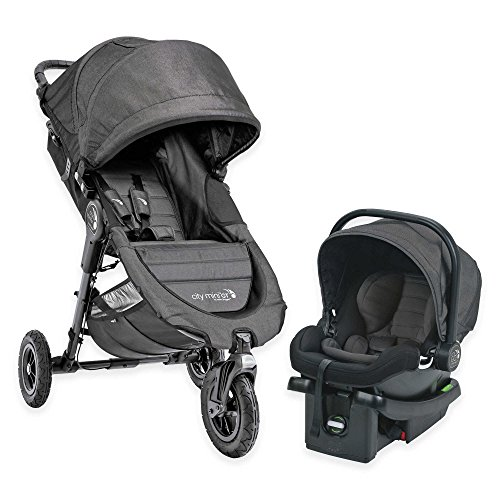 Baby Jogger® City Mini GT Travel System in Charcoal by Baby Jogger