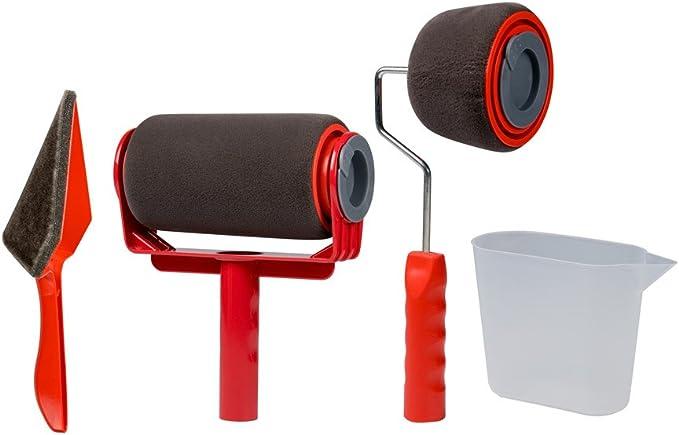 D/écor peintre couleur Kit rouleau Roller Painter professionnel Rouleau Rouleau Rouleau peintre diff/érentes tailles pour silicone Huile /& Plastique Couleurs int/érieur fa/çades