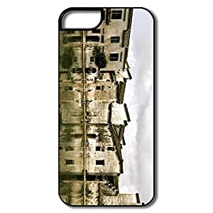 IPhone 5S Cases, Old Town White/black Cases For IPhone 5 5S
