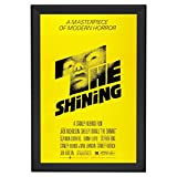 SnapeZo Movie Poster Frame 27x41 Inches, Black 1.7'' Aluminum Profile, Front-Loading Snap Frame, Wall Mounting, Wide Series