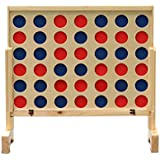 Wild Sports Giant Four in A Row Game - 3 feet Wide