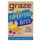 4X Graze Blueberry & Lemon Flapjack with Super Baobab 4 x 30g