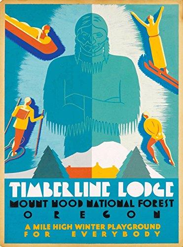 MAGNET Timberline Lodge Mt. Hood National Forest Oregon United States Travel Magnet