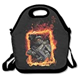 Master Chief Halo 5 Lunch Box Bag For Kids And Adult,lunch Tote Lunch Holder With Adjustable Strap For Men Women Boys Girls,This Design For Portable, Oblique Cross,double Shoulder