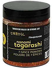 YOSHI Shichimi/Nanami 7-Spice Togarashi Dry Chili Blend Seasoning, 60g (2.12oz) | Japanese Chile Spice Blend, Use On Udon and Soba Dishes, Potatoes and Fries, Steamed Vegetables, Tuna Tartare, or Scallop Ceviche