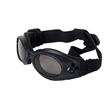 0b962f42ec00b Lunettes de Protection UV Lunettes de Soleil pour Chien - Noir ...