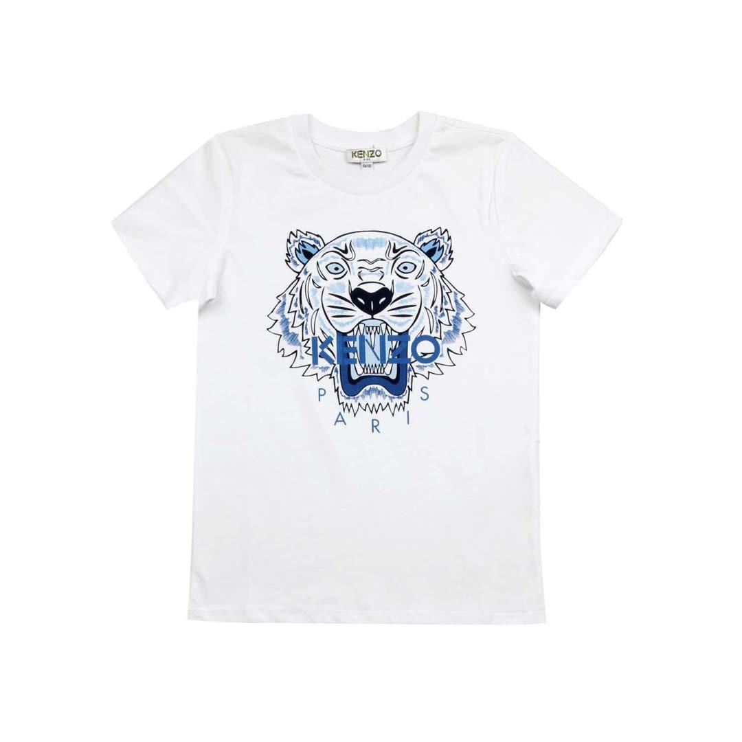 2c655bae723 Kenzo Kids T-Shirt Tiger Bambino Kids Boy Mod. KN10738  Amazon.fr   Vêtements et accessoires