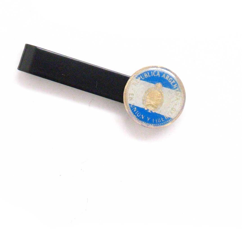 Argentina Tie Bar Clip Tiebar tieclip traje estilo Vintage bandera ...