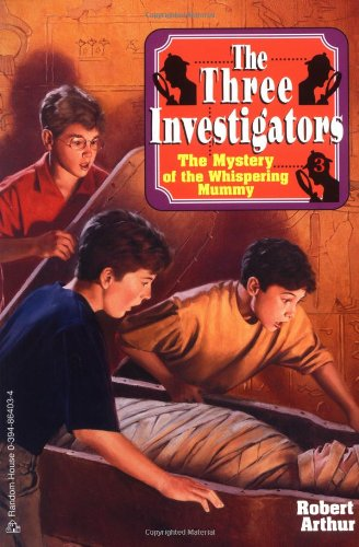 The Mystery of the Whispering Mummy (Three Investigators #3) by Random House Kids (Image #1)