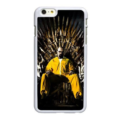 Breaking Bad Game Of Thrones I8F18R8VQ coque iPhone 6 6S Plus 5.5 Inch case coque white 684644