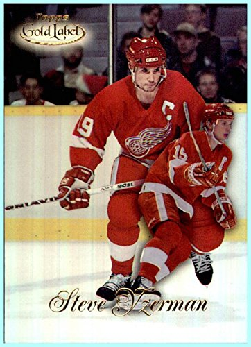 - 1998-99 Topps Gold Label Class 1 #31 Steve Yzerman DETROIT RED WINGS GM General Manager 2017-18 Tampa Bay Lightning
