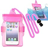 Universal Waterproof Case with Armband, Insten Cell Phone Dry Bag for Apple 7
