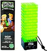 ShiZap! The Energized Stacking Block Game - Electric Shocking Light Up Tumble Tower - Family-Friendly Party Ga