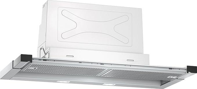Neff DML4954X (D49ML54X0) / Campana plana / 90 cm/acero inoxidable/Funcionamiento de extracción o recirculación de aire a elegir: Amazon.es: Grandes electrodomésticos
