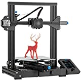 Creality Official Ender 3 V2 3D Printer with MeanWell Power Supply Upgraded Version of Ender 3 Pro Silent Motherboard Silent