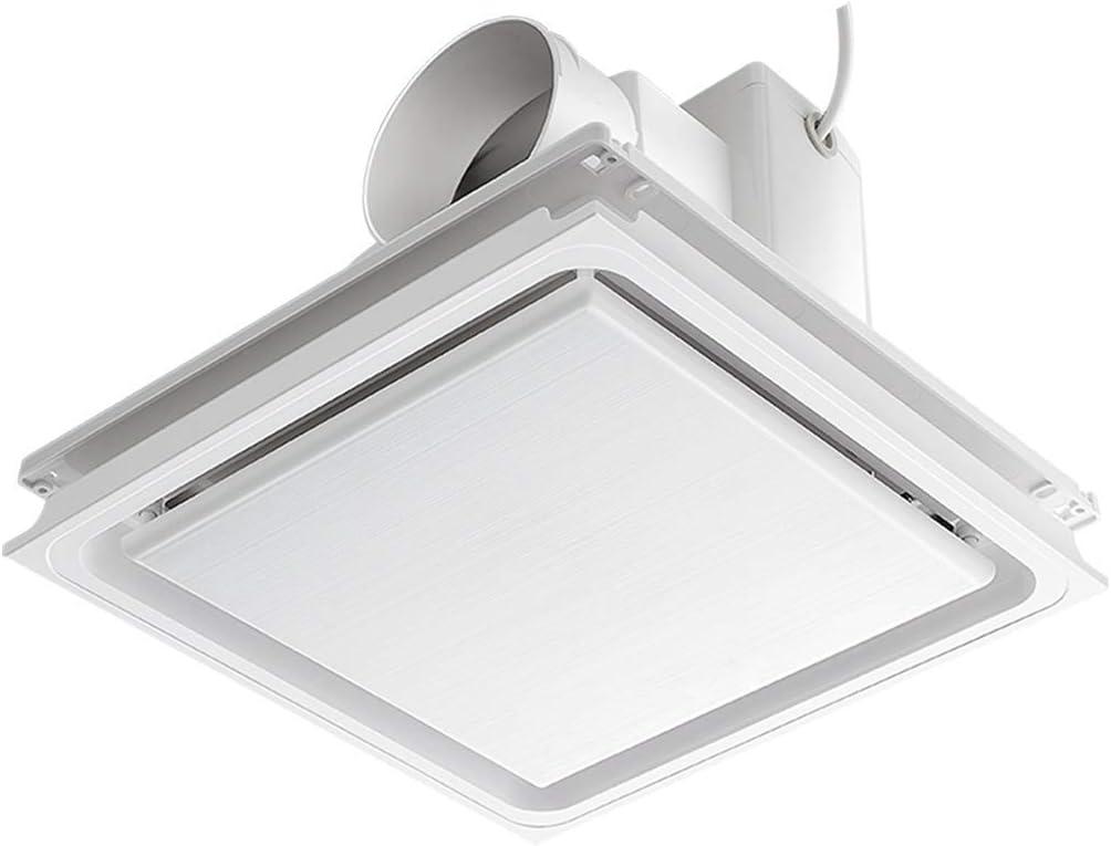 Knoijijuo Cuarto de baño Extractor de Aire Ventilador de la Campana de ventilación de Escape 12 Baño Techo presupuesto Pulgadas más silenciosos Potente Amortiguador,A5~10m